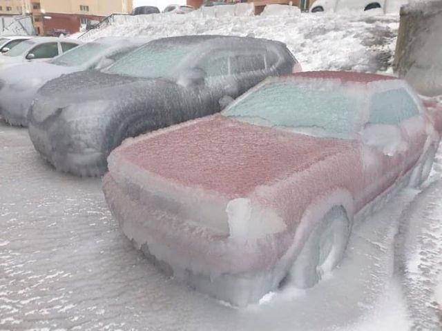 ЧС в Приморье: из-за непогоды весь регион превратился в ледяное царство (12 фото)