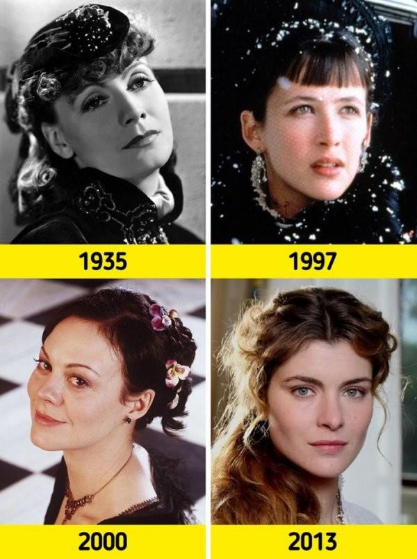Как менялись знаменитые литературные персонажи в кинематографе (16 фото)