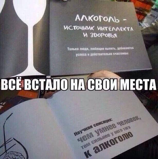 Приколы про алкоголь и любителей выпить (15 фото)