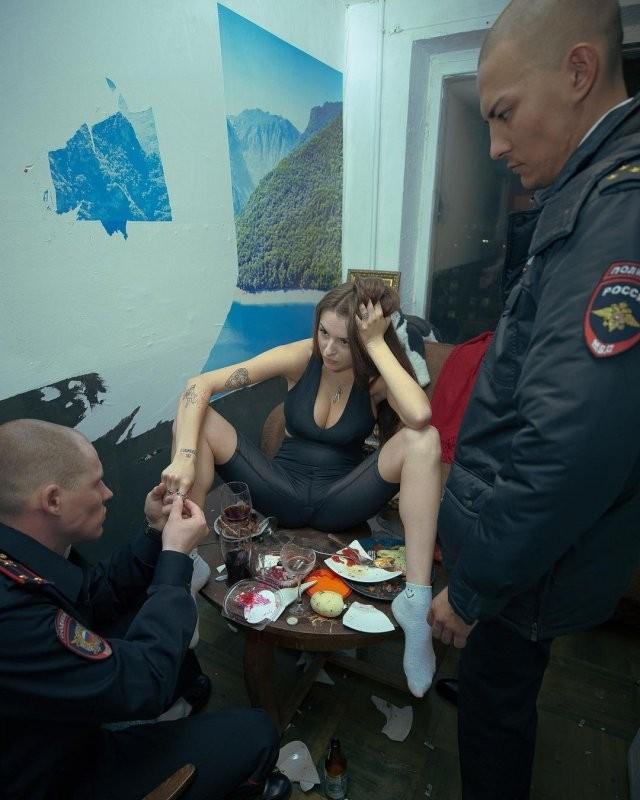Посмотрите на Маргариту Коновалову (Рита Флорес), участницу Pussy Riot, которую задержали за акцию в Москве (17 фото)