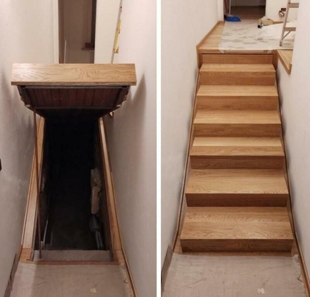 Итальянцы нашли в новом доме тайную комнату, спрятанную под лестницей (3 фото)
