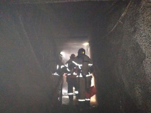 Пожар в Екатеринбурге (8 фото)