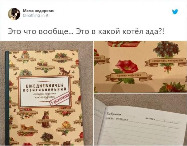 Пользователи сети нашли ежедневник, который выведет из себя любого человека (10 фото)
