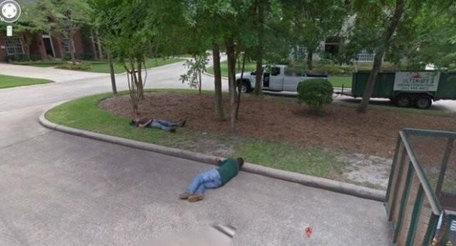 Странные ситуации, которые можно найти на Google Maps (15 фото)
