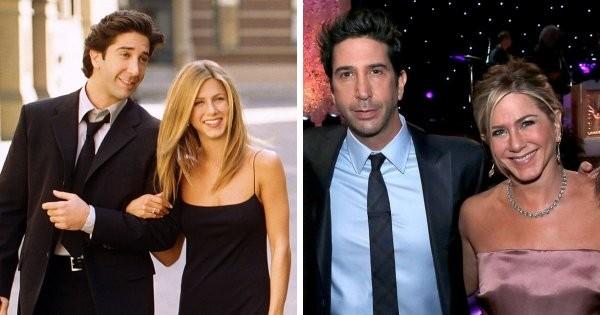Тогда и сейчас: как изменились пары из знаменитых телесериалов (22 фото)
