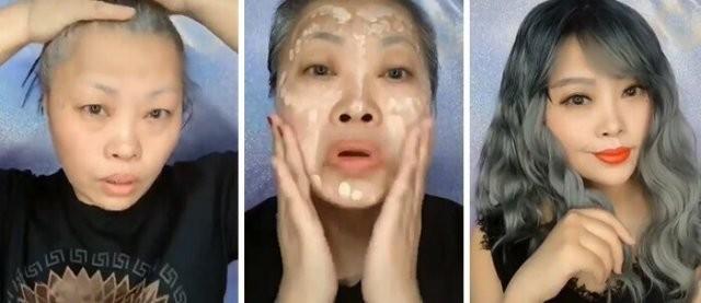 """Чудеса макияжа: как азиатки """"обманывают"""" окружающих с помощью косметики (20 фото)"""