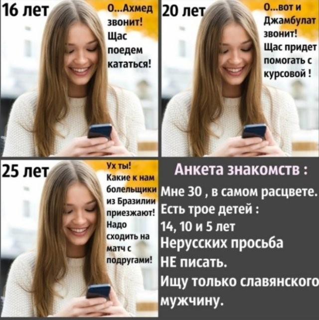 Приколы про девушек (15 фото)
