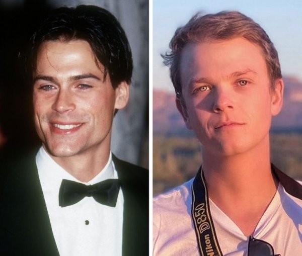 Голливудские звезды и их дети в одном возрасте (15 фото)