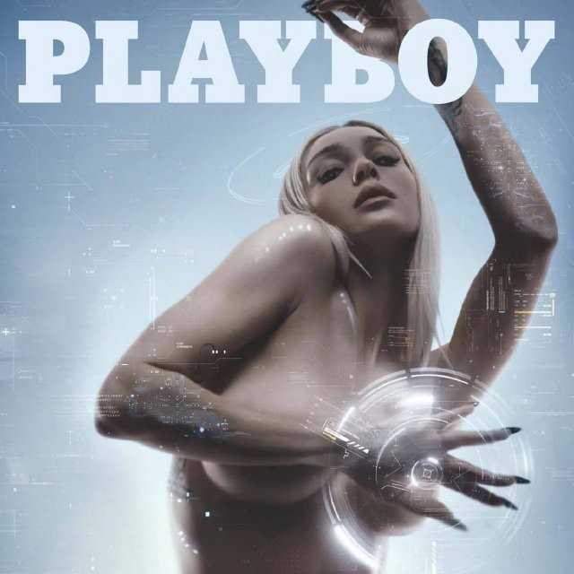 Телеведущая Настя Ивлеева в откровенной фотосессии для Playboy (7 фото)