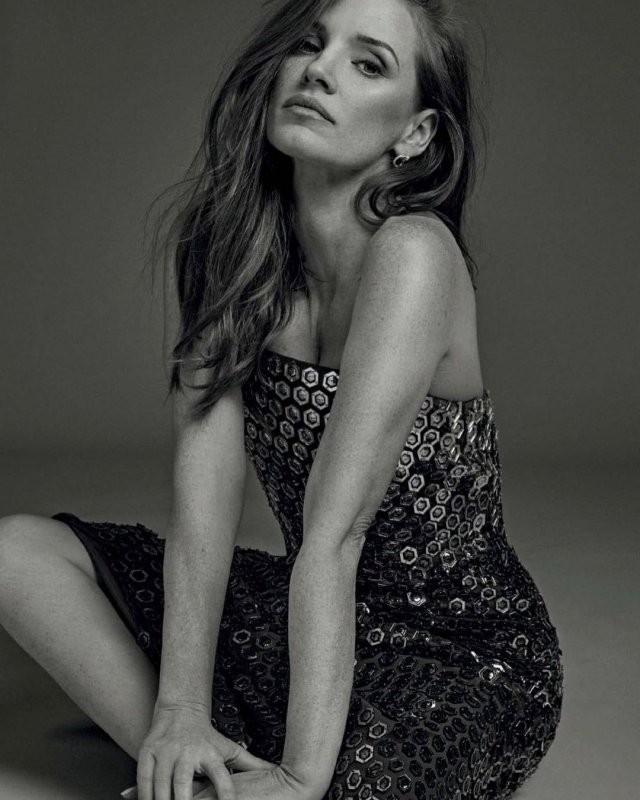Джессика Честейн - рыжеволосая актриса, покорившая Голливуд (17 фото)