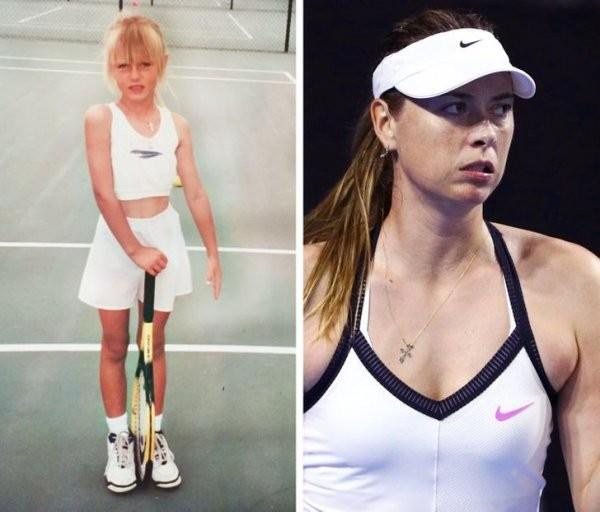 Российские звезды спорта в детстве (20 фото)
