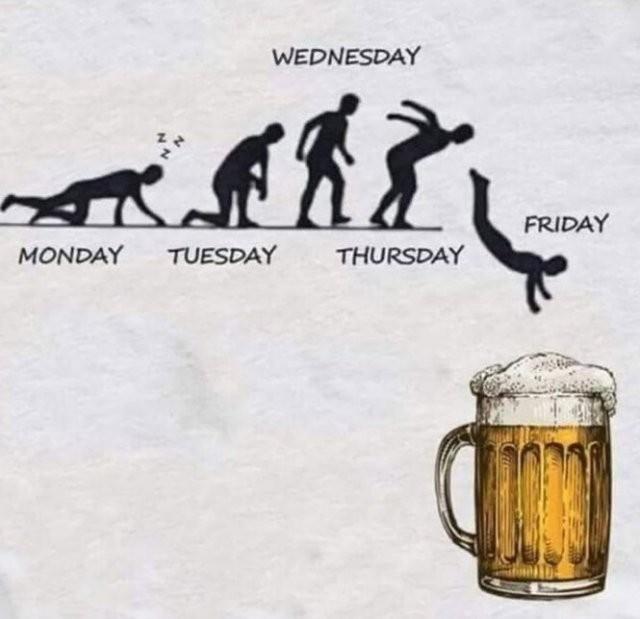 Шутки про алкоголь после прошедших выходных (15 фото)