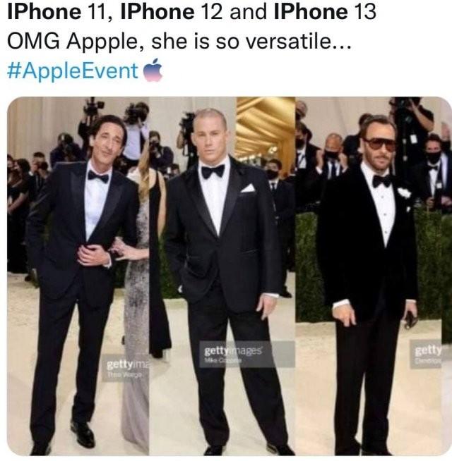 Шутки и мемы про новый iPhone 13 (27 фото)