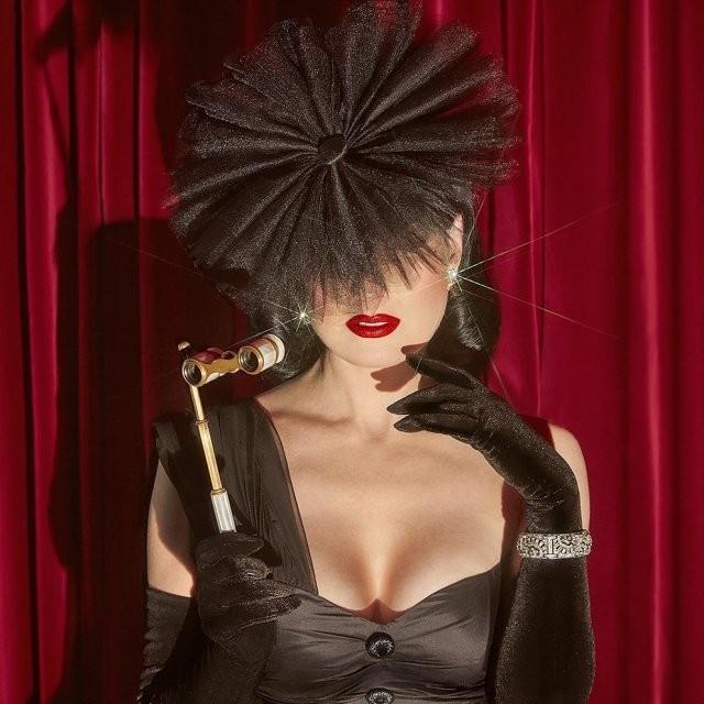 Дита фон Тиз - актриса, которая вывела понятие бурлеска на новый уровень (16 фото)