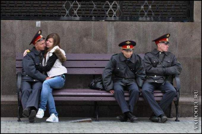 Фото приколы про полицию (17 фото)