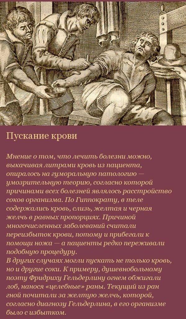 Жестокая средневековая медицина (16 фото)