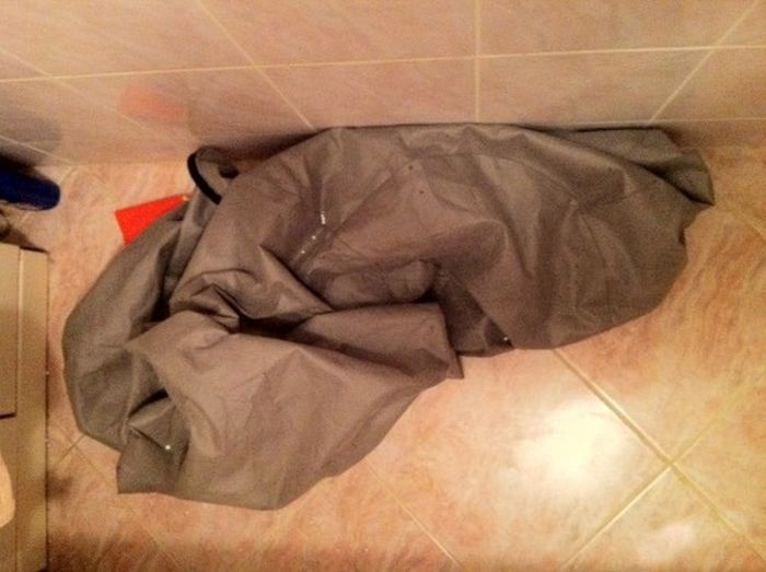 Почему нельзя стирать пенопласт (5 фото)