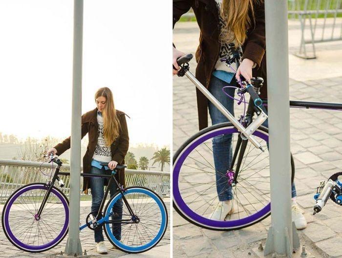 Велосипед, который очень непросто угнать (5 фото)
