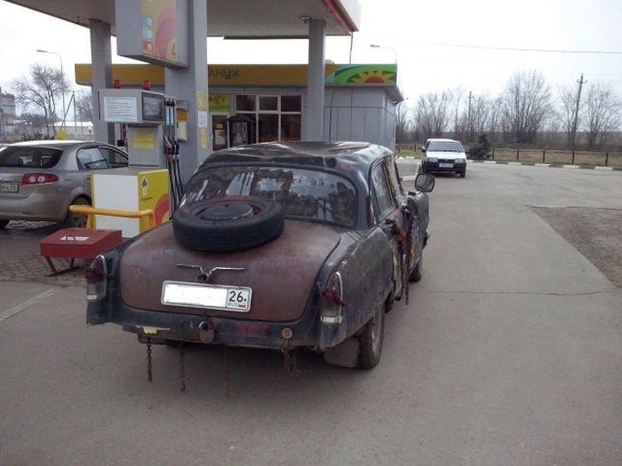 Суровое отечественное авто (5 фото)