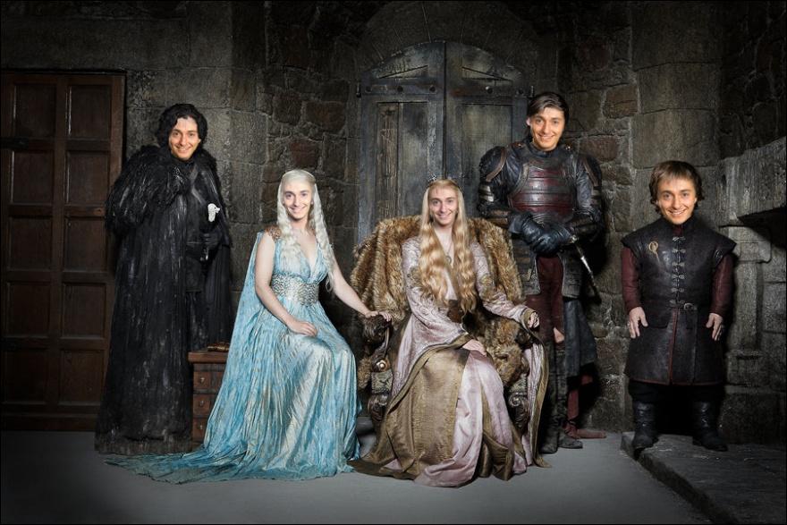 Наши актеры в их сериалах (16 фото)