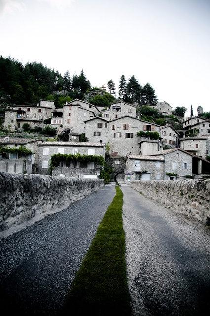 Франция: живая дорожка (7 фото)
