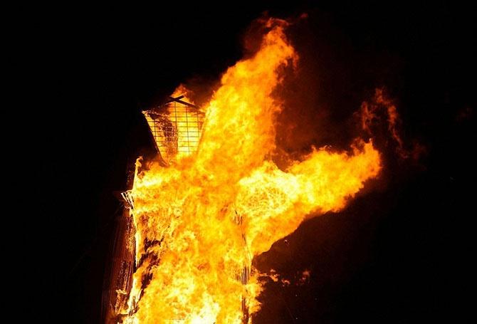 Как прошел фестиваль Burning Man 2014 (20 фото)