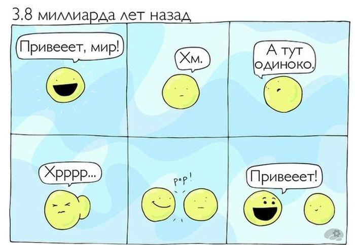 Смешные комиксы 02.09.2014 (20 картинок)