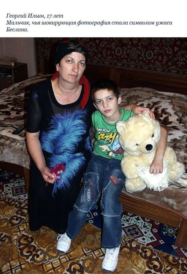 Беслан: дети, выжившие во время теракта: 10 лет спустя (12 фото)