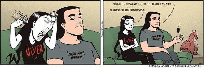 Смешные комиксы 04.09.2014 (20 картинок)