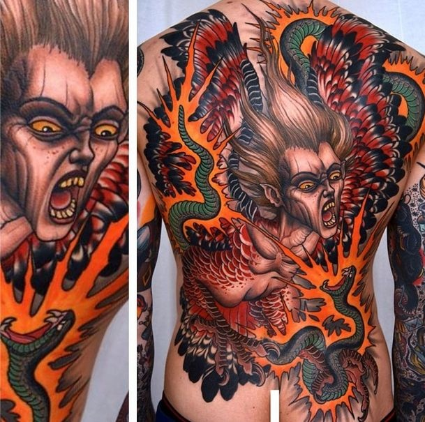 Татуировки от Peter Lagergren (29 фото)