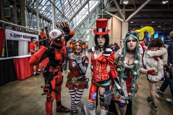 Канада: отличный косплей с Fan Expo (30 фото)