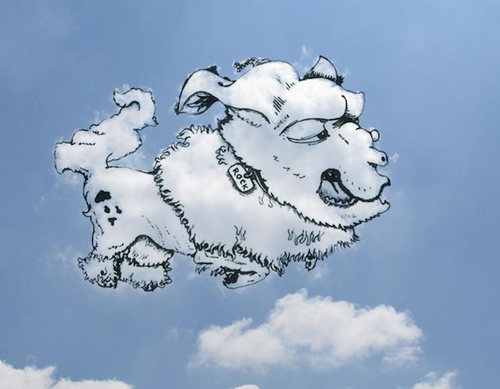 На что похоже это облако? (10 фото)