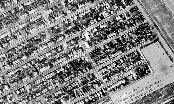 Детройт тогда и сейчас (85 фото)