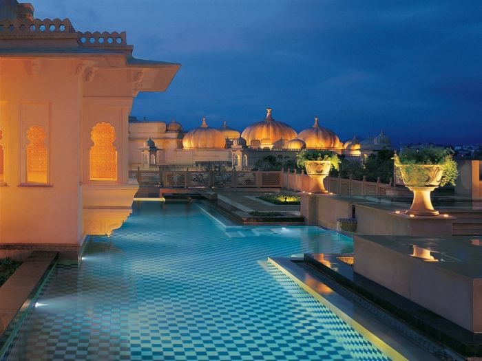 Шикарный индийский отель Oberoi Udaivilas (18 фото )