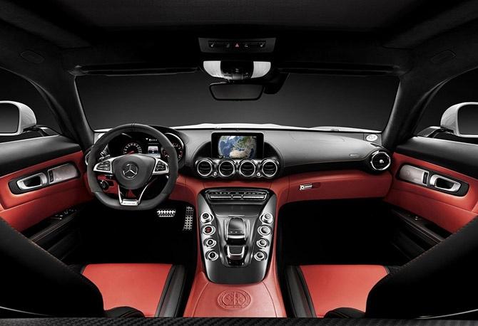 Новейший спорткар от Mercedes (13 фото)