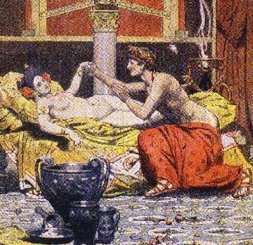 Самые известные жрицы любви древности (12 фото)