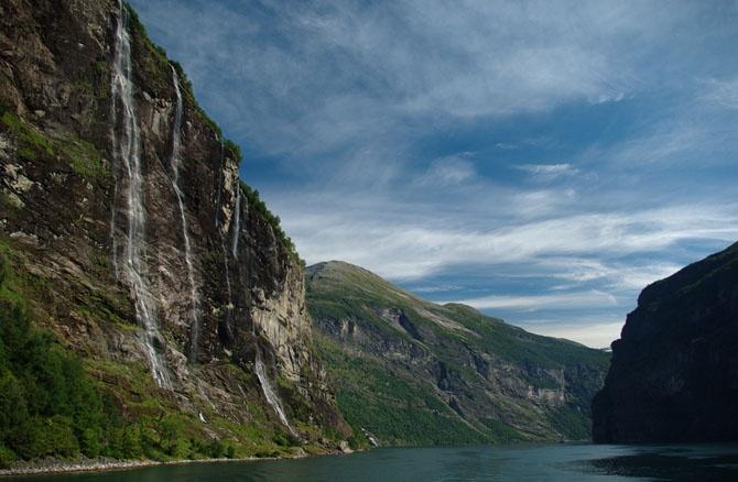 Рейтинг самых красивых водопадов Норвегии (9 фото)