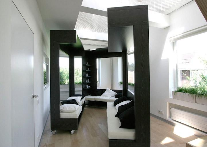 Необычная мебель для студенческой комнаты (11 фото)