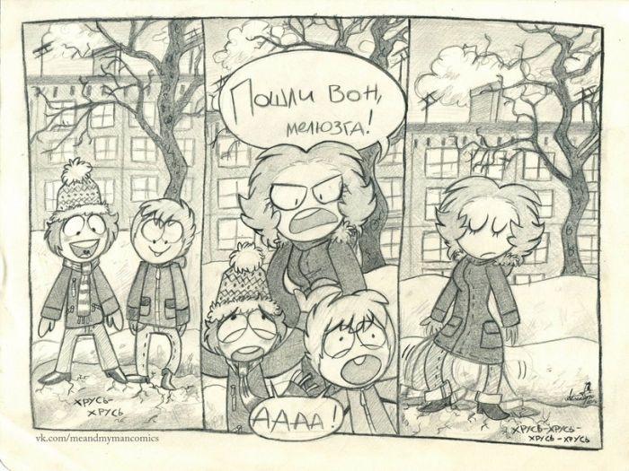 Смешные комиксы 16.09.2014 (19 картинок)