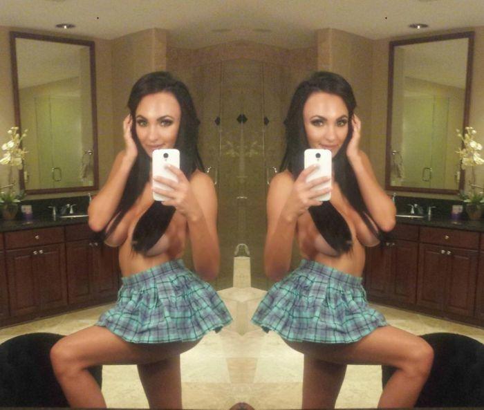 Пышногрудая звездочка соцсетей Ирина Иванова (39 фото)