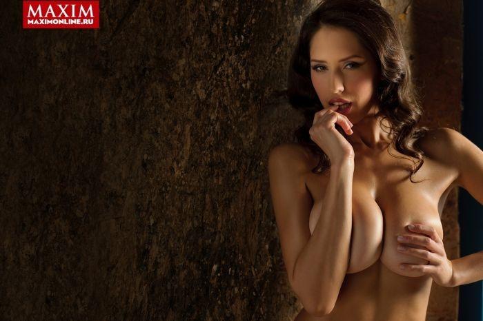 """Обворожительные финалистки конкурса красоты """"Miss Maxim 2014"""" (14 фото)"""