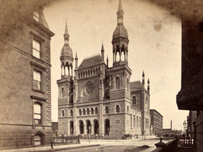 Красивые старые здания Нью-Йорка, которые больше не существуют (41 фото)
