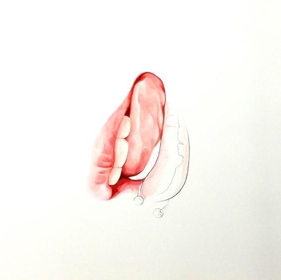 Цикл картин «Sexual Healing» в творчестве Оскара Дельмара (5 фото)