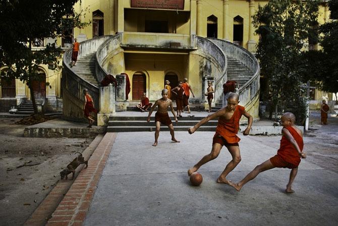 Серия фотографий легендарного Стива МакКарри «Сила игры» (34 фото)
