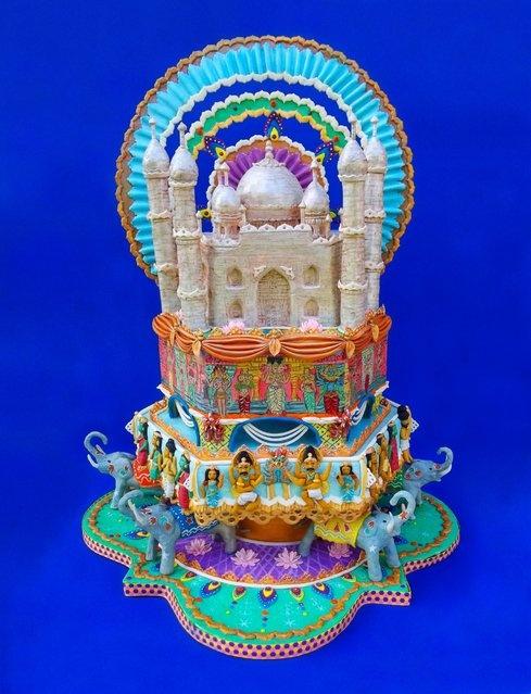 Живописные торты (10 фото)