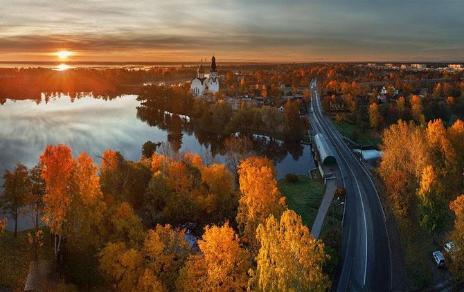 Яркие цвета осени (12 фото)