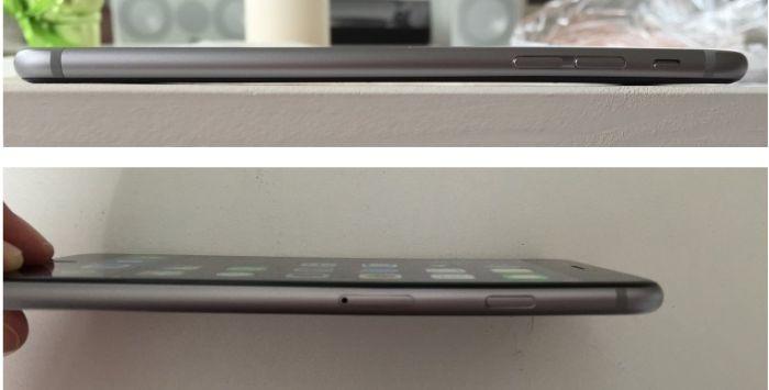 Непрочный корпус нового IPhone 6 (4 фото)