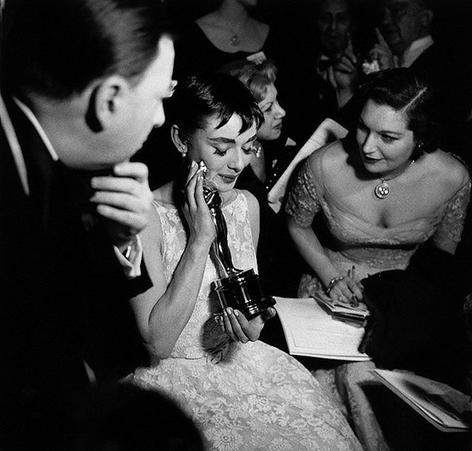 Редкие фотографии Одри Хепбёрн (22 фото)