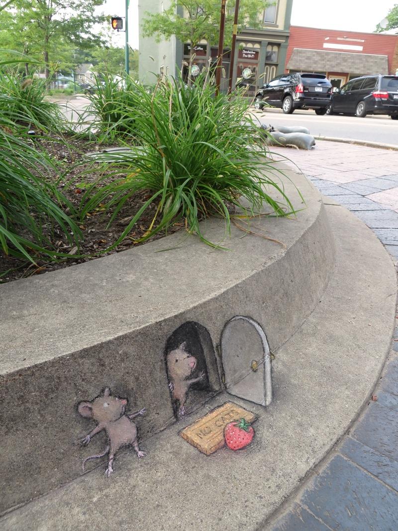 Самый милый стрит-арт (9 фото)