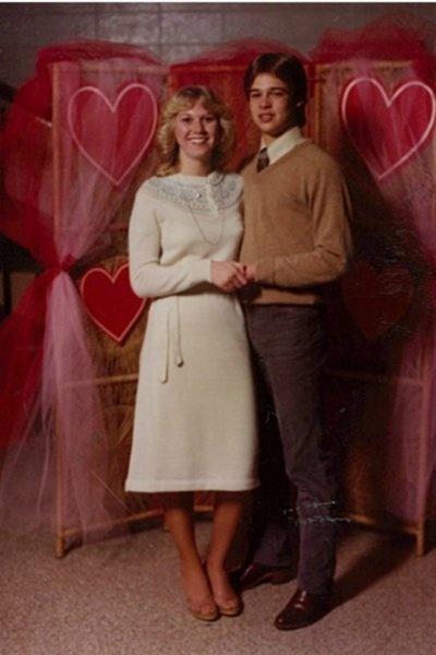 Первая девушка Брэда Питта показала редкие фото актера (6 фото)